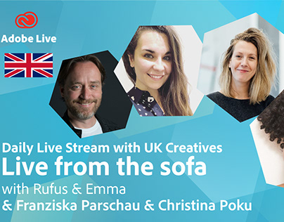 Adobe Live from the sofa - Franziska and Christina Poku