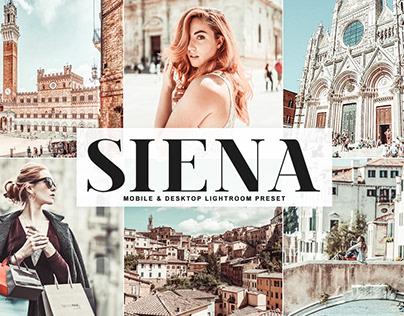 Free Siena Mobile & Desktop Lightroom Preset