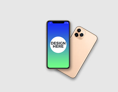 Animated iPhone 11 Pro Mockup