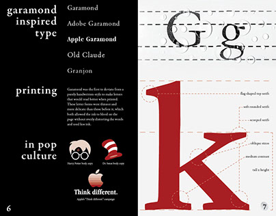 Garamond Type Study