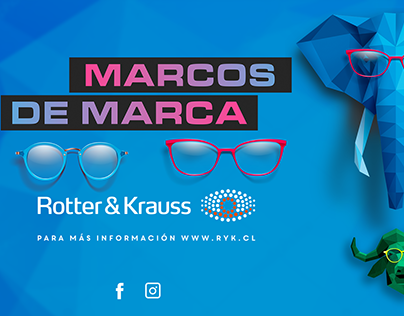 key visual marcos de marca ROTTER & KRAUS
