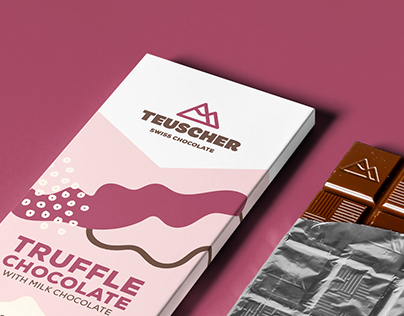 Teuscher Swiss Chocolate Packaging Rebrand