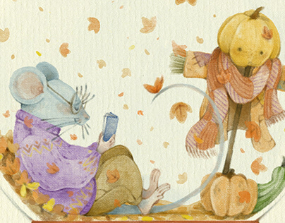 Autumn Globe