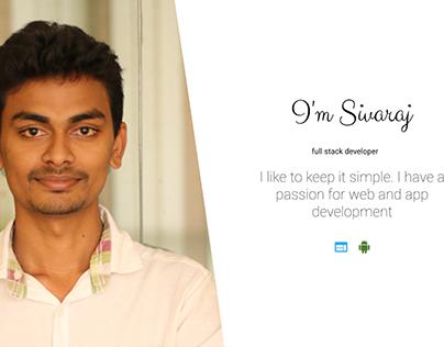 Sivaraj S (Full Stack Developer)