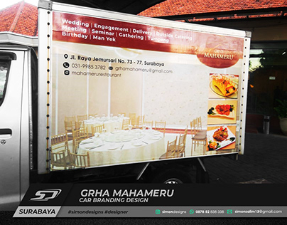 Mahameru Car Branding | Simon Designs