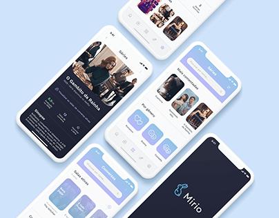 Mirio   UX/UI design