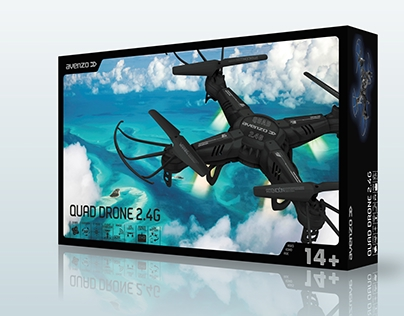 Packaging Quad Drone de Avenzo