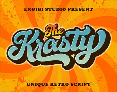 Krasty - Retro Font