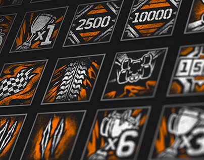 GRIP: Combat Racing -Achievements/trophies icons