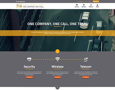 FCi Telecom Web Design