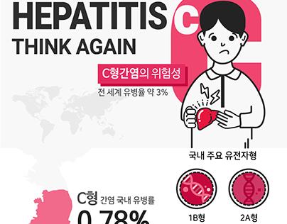 Hepatitis Think Again - Medical Infographics