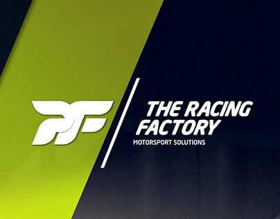 BRANDING FOR: THE RACING FACTORY - MOTORSPORT SOLUTIONS