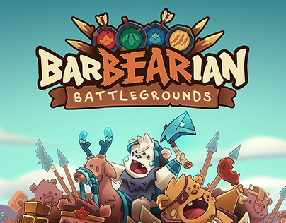 Barbearian Battlegrounds // Board game