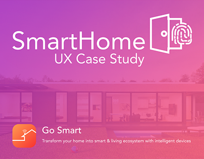 UX process for SmartHome App