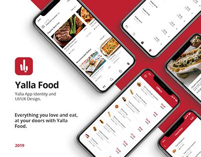 Yalla App Identity & UI/UX Design