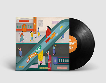 Illustrated Vinyl Cover