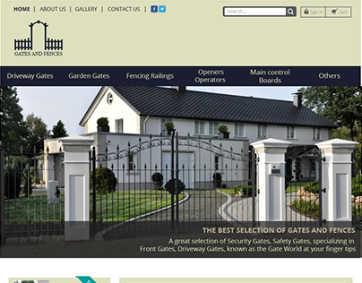 Gates and fences project.