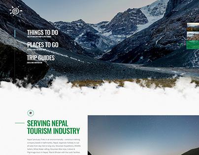 Trekking Webdesign