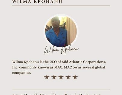Wilma Kpohanu - HealthCare Consultant