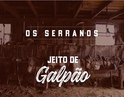 Jeito de Galpão | Os Serranos | Design Gráfico
