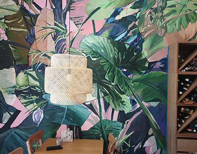 Mural: Jungle