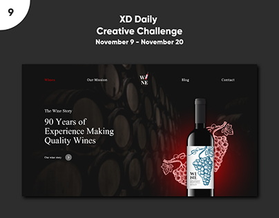 XD Daily Creative Challenge - E-commerce Website