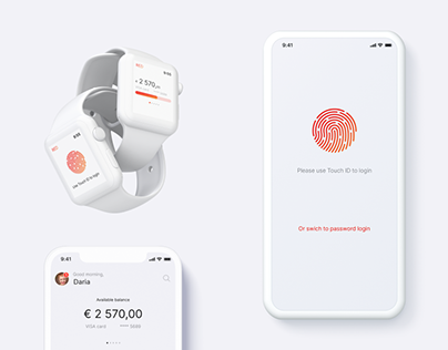 Banking Mobile Application - iOS, WatchOS