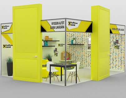 Apartment Expo - Stand Visualization