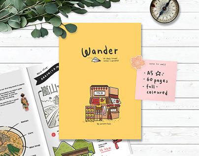 Travel Zine : Wander