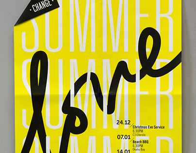 Change Auckland / Summer Love / Print