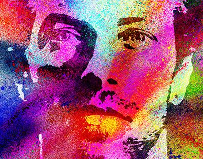 Chris Martin Portrait