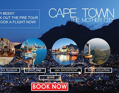 Cape Town banner