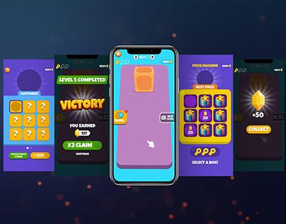 Cube Blast Game UI & Logo