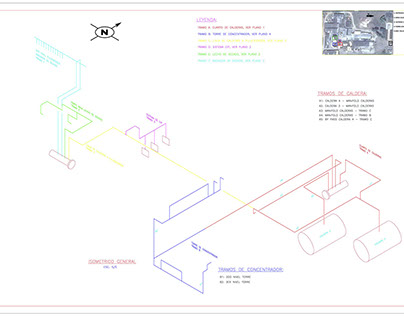 Steam System Isometric