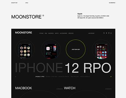 Moonstore® e-commerce | Website Design