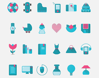Wishandy icon set