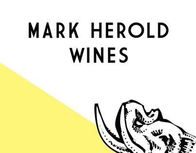 Mark Herold Wines re-brand