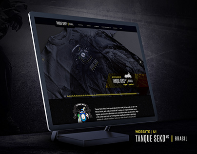 Tanque Seko MC Website | UI Design