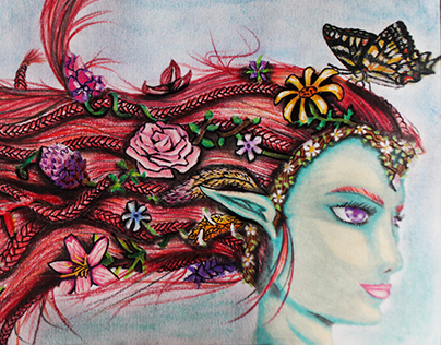 Flower Elf ilustración