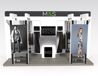 M&S Pop-Up Shop and Mock-Up Runway