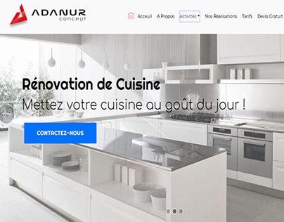 adanur-concept.ch WEB DESIGN