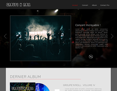 WebDesign - Groupe'n'Roll
