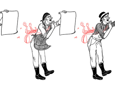 The Town Crier: Illustrative Work for Makers Alley