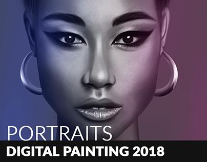 My portraits - Digital painting