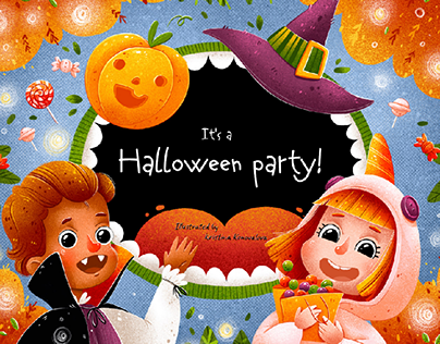 It's a Halloween party! / Children game 2020