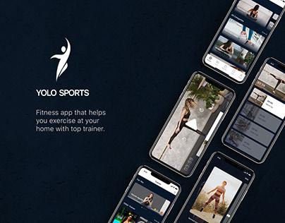 Yolo Sports UI Design