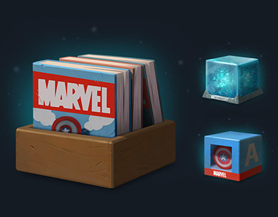 Marvel Avengers icons