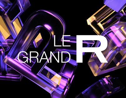 LE GRAND R - Branding