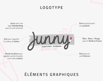 JUNNY / Créatrice de déco et de mobilier en béton ciré