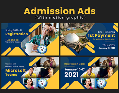 Admission Promo Video and banner